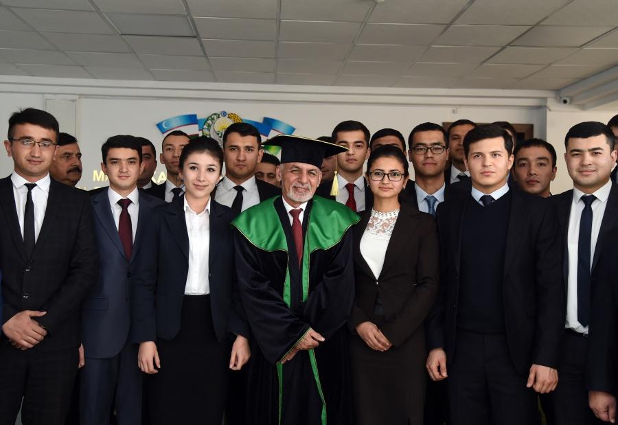 Президенту Афганистана присвоено звание почетного доктора Бухарского государственного университета