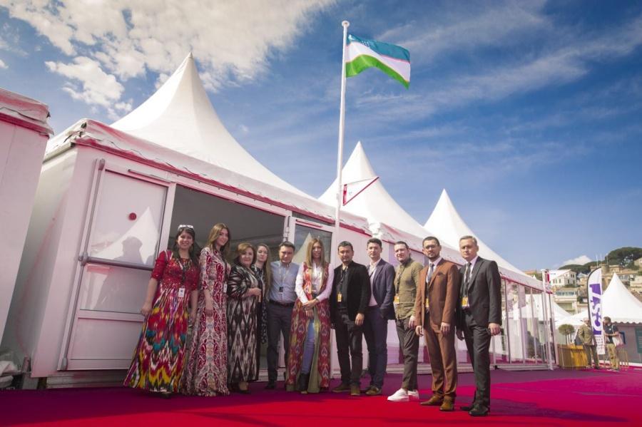 В рамках Международного фестиваля в Каннах открылся узбекский павильон